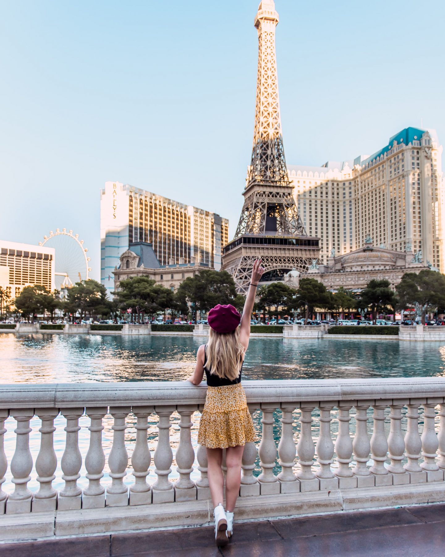 Sharing the best Las Vegas photo spots