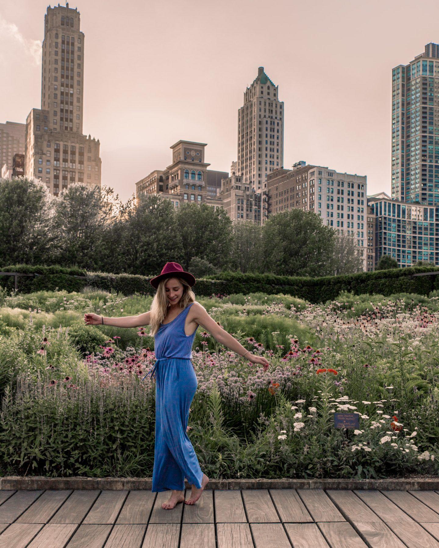 Laurie Garden at Millennium Park Chicago