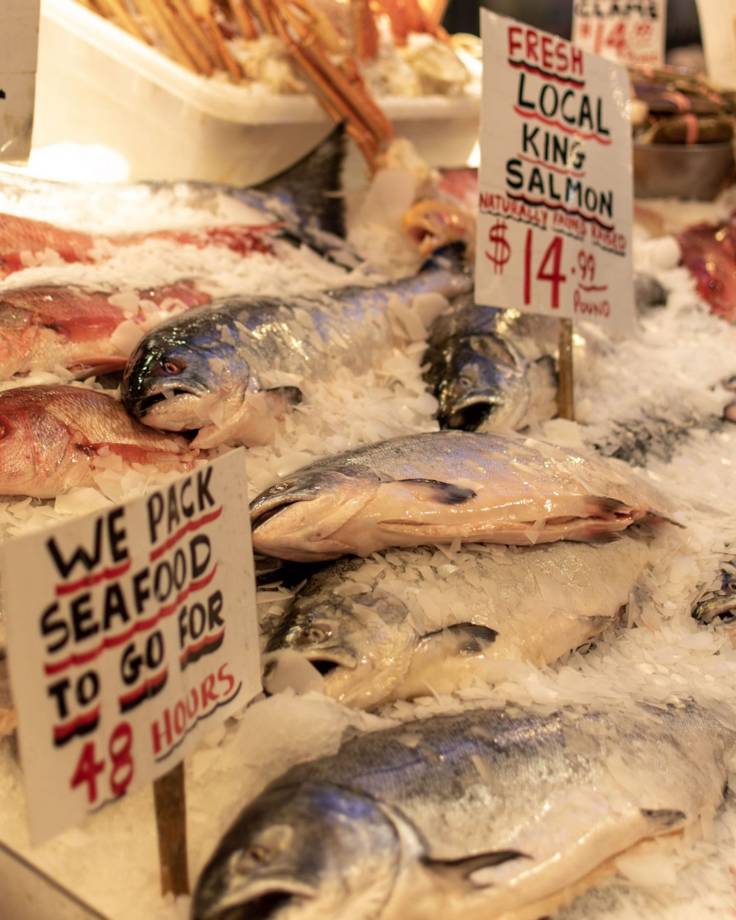 Pike Place Fish Market in Seattle