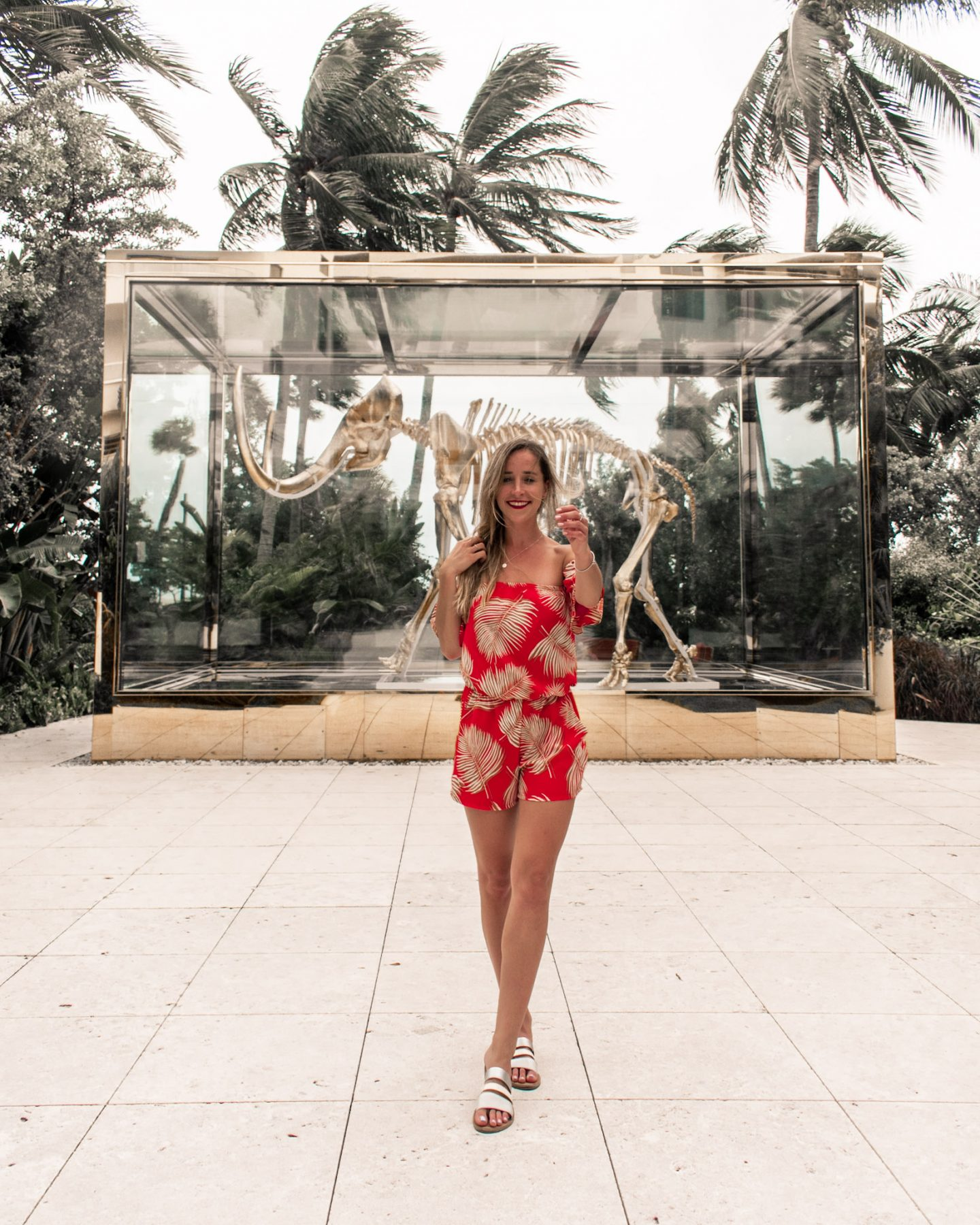 Faena hotel wooly mammoth in south beach miami