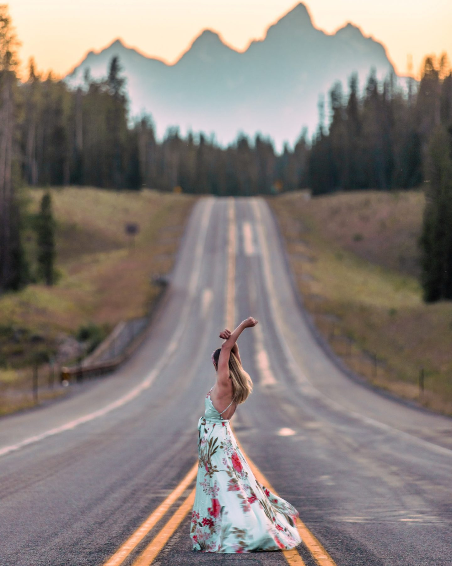 Instagram worthy places in grand teton togwotee pass