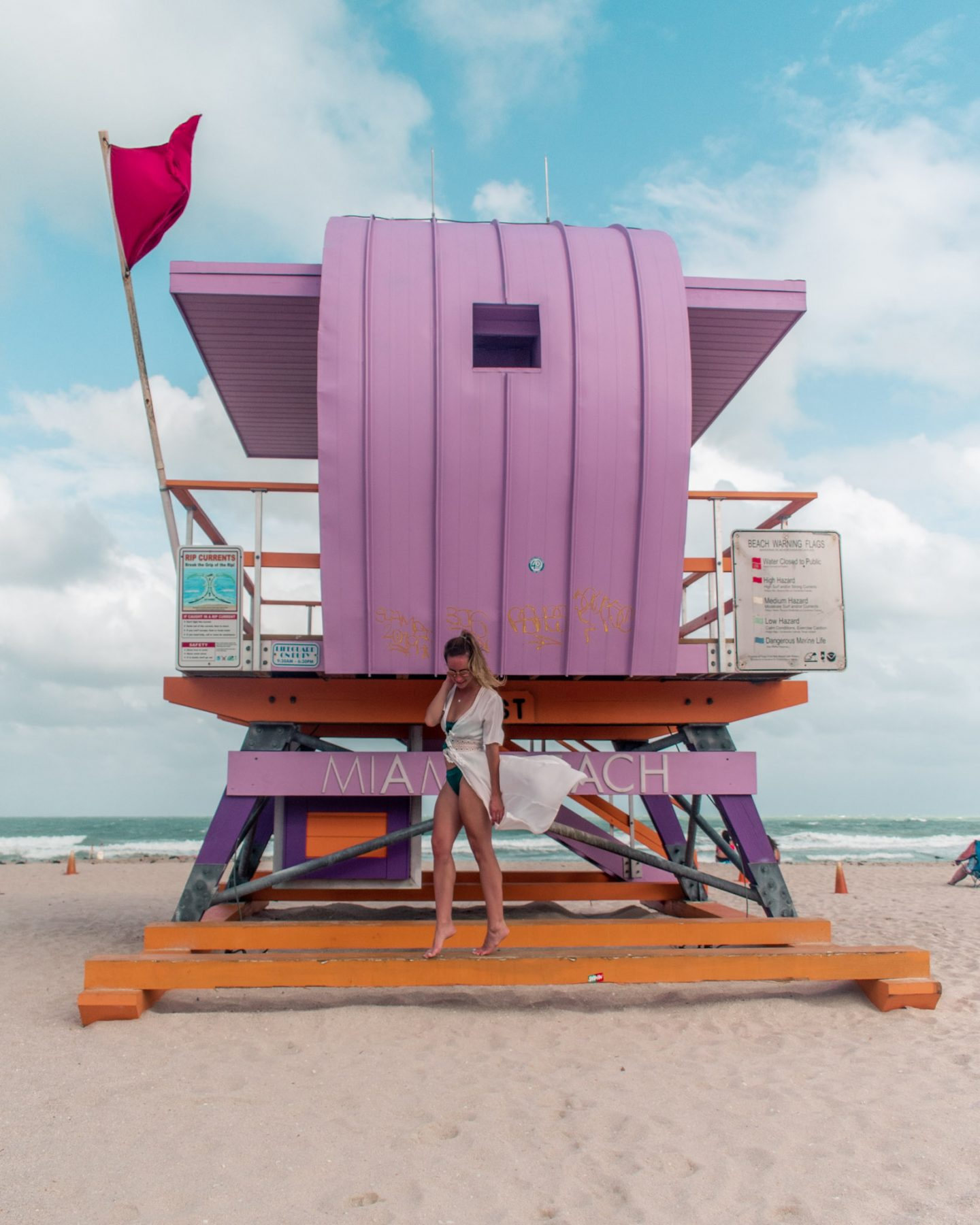 Instagram worthy places in miami art deco lifeguard stands