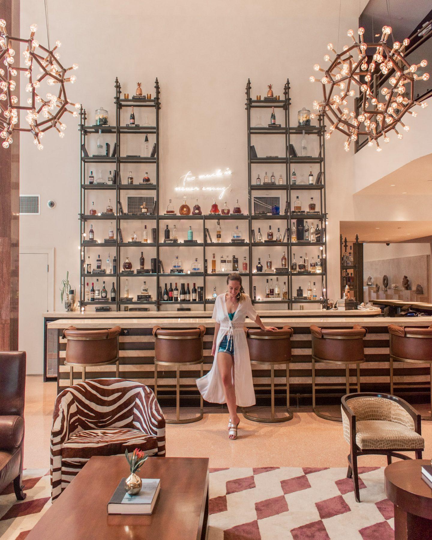 Shelborne miami hotel lobby bar
