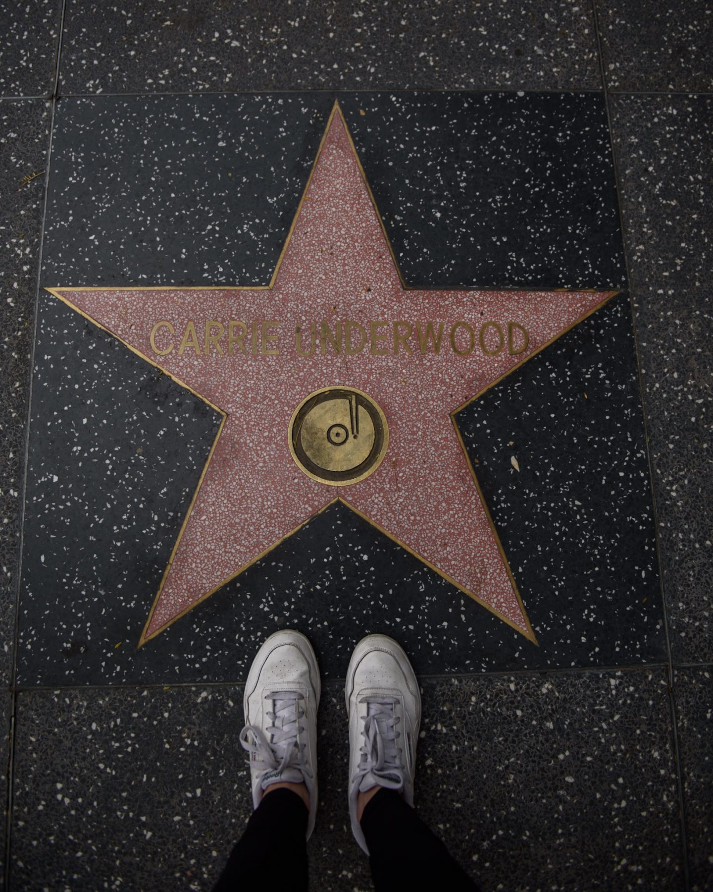 carrie understand star on the hollywood walk of fame